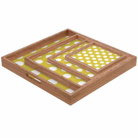 Brightest Chartreuse Square Tray