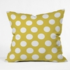 Brightest Chartreuse Throw Pillow