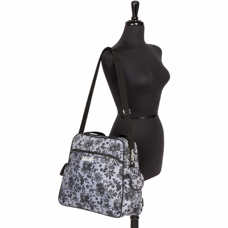Brittany Backpack Diaper Bag in Lace Floral