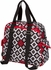 Brittany Backpack Diaper Bag in Royal Ruby Montage