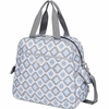 Brittany Backpack Diaper Bag in Sky Blue Montage