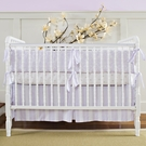 Brocade Orchid 3-Piece Crib Bedding Set