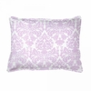 Brocade Orchid Boudoir Pillow