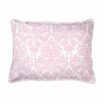 On Sale Brocade Peony Boudoir Pillow