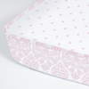 Brocade Peony Perfect Fit Crib Sheet