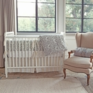 On Sale Brocade Slate 3-Piece Crib Set