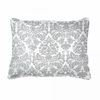 Brocade Slate Boudoir Pillow