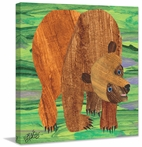 Brown Bear 2 Canvas Wall Art