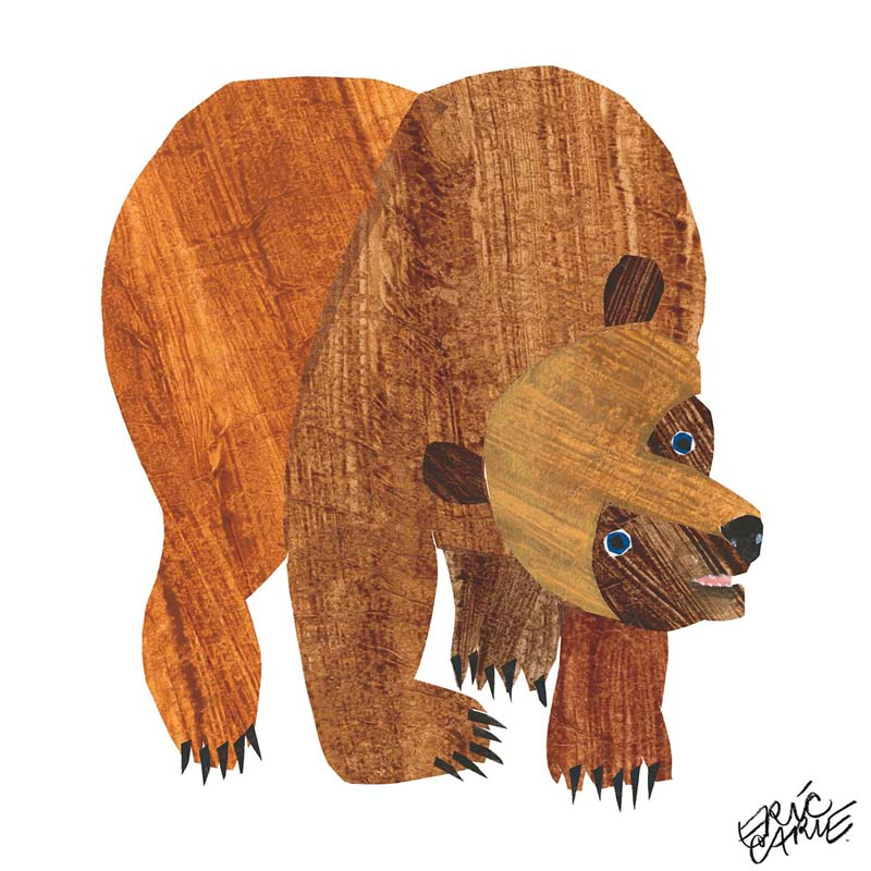 Brown Bear What Do You See Coloring Pages