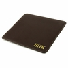 Brown Cowhide Personalized Mouse Pad