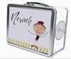 Brown Hair Tap Dancer Personalized Lunch Box