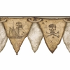 Brown Pirates Pennant Border
