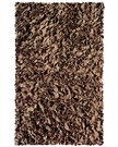 Brown Shaggy Raggy Rug