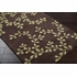 Brown Vine Rug
