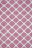 Bubblegum Pink Lattice Piper Rug