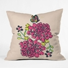 Budding Love Throw Pillow