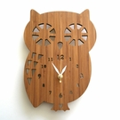 Buddy Owl Wall Clock