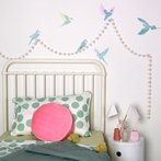 Budgies Wall Decals
