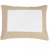 Buff Windowpane Pillow Sham