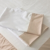 Buff Windowpane Pillowcase Set