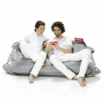 Fatboy Buggle-Up Light Grey Beanbag