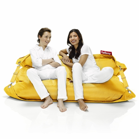 Buggle-Up Beanbag In Yellow Ochre