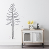 Build a Pine Tree Fabric Wall Decals