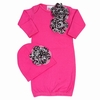 Bundle of Love Pink Cheetah Gown Set