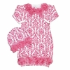 Bundle of Love Pink Damask Gown Set