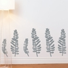 Bunke in Medium Grey Wall Decal