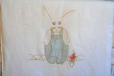 Bunnie Crib Duvet