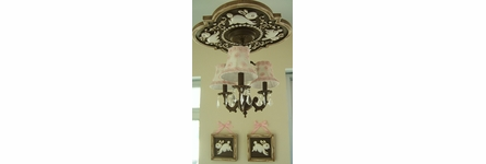 Bunnies Accent Wall Plaque - Set of 2
