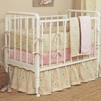 Bunny Ballet Custom Crib Bedding Set