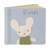Bunny Boy Felt Patch Personalized Photo Album