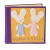 Bunny Boy Girl Felt Patch Personalized Photo Album