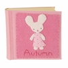 Bunny Girl Felt Patch Personalized Photo Album