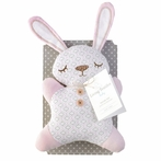 Bunny Plush Toy with Rattle