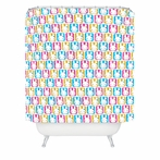 Bunny Squares Shower Curtain