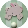 Bunny Wall Peg - Set of Two