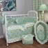 Burst Seagrass Crib Bedding Set