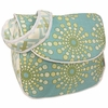 Burst Seagrass Messenger Diaper Bag