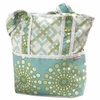 Burst Seagrass Tote Diaper Bag