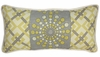 Burst Sterling Throw Pillow - Lumbar