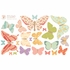 Butterflies Girly Fabric Wall Decals