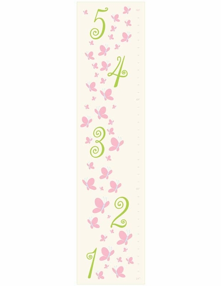 Butterfly Dreams Personalized Growth Chart