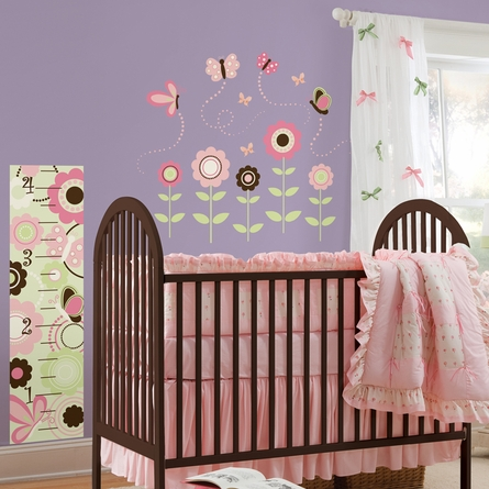 Butterfly Garden Peel & Stick Wall Decals
