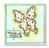 Butterfly Miracles Do Happen Wall Plaque