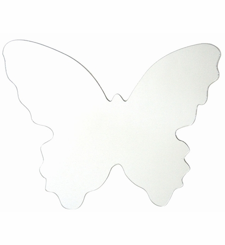 Butterfly Peel & Stick Wall Mirror Applique