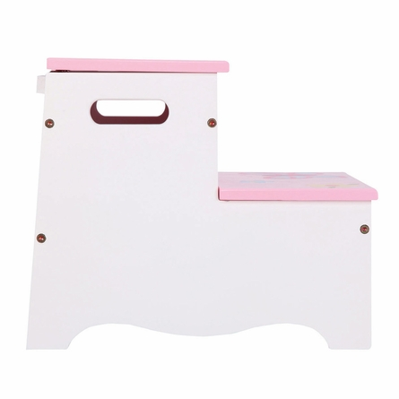 Butterfly Pink Storage Step-Up