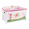 Butterfly Pink Toy Box